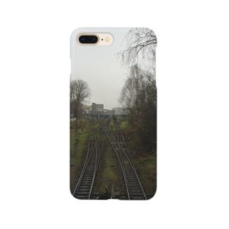 ポーランドの線路 Smartphone cases