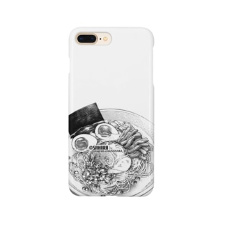 まんがフーズ 通販店の女将こだわりの塩ラーメン Smartphone cases