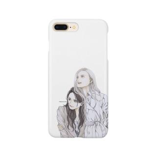 ふたり Smartphone cases