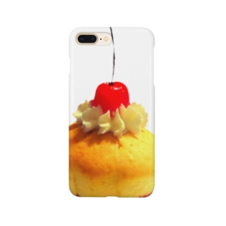memoryのチェリーマフィン Smartphone cases