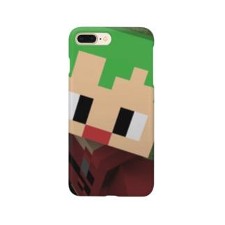 くろのドアップスマホケース Smartphone cases