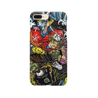 鬼若丸ヤンキース Smartphone cases