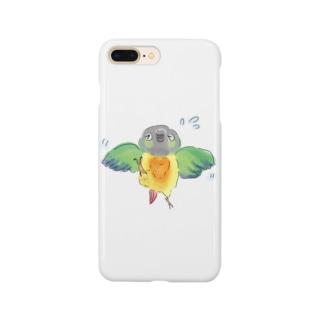 こわがりウロコインコ Smartphone cases