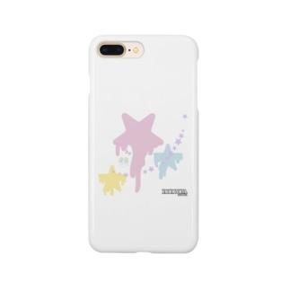 星と…モジャリティーヌ  バージョン Smartphone cases