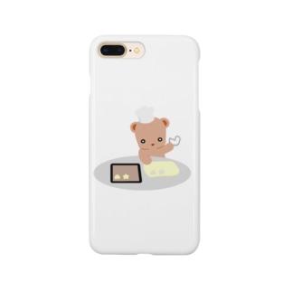 クッキーとクマさん Smartphone cases