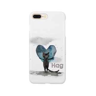 Hug cat Smartphone cases