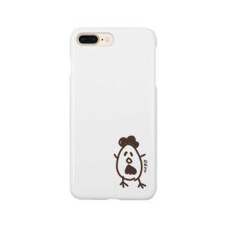 ニワトリです。 Smartphone Case