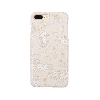 *momochy shop*の春うさぎ Smartphone cases