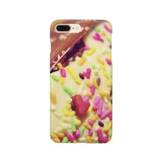 ハートのあるお菓子 Smartphone cases