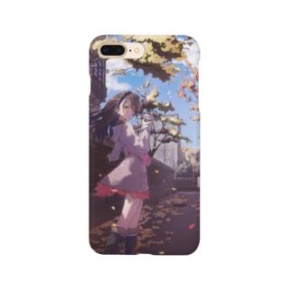 秋の通り道 Smartphone cases