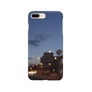 くらくら夕暮れ Smartphone cases