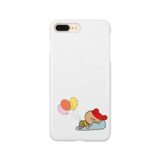 虹色クマ Smartphone cases