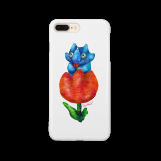 BenizakeのTriceratops -tulip- Smartphone cases