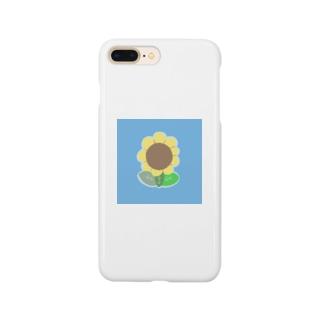 お花のアイコン Smartphone cases