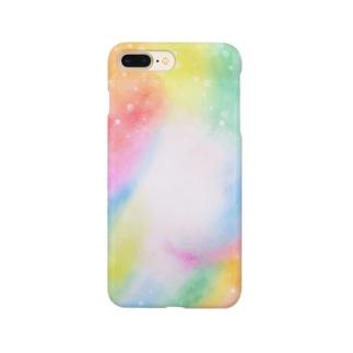 虹色空間 Smartphone cases