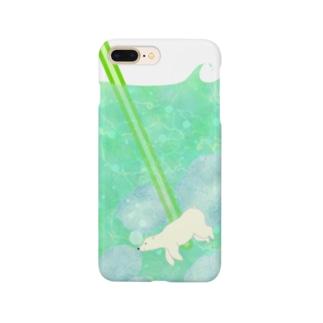くまさんのメロンソーダ Smartphone cases