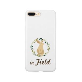 in Field ロゴ Smartphone Case