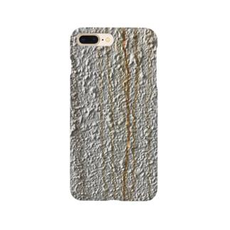 壁の汚れ Smartphone cases