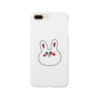 紅ほっぺうさぎ Smartphone cases