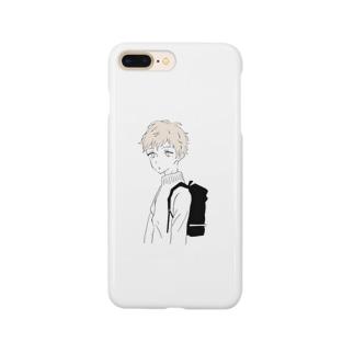童顔ボーイ Smartphone cases