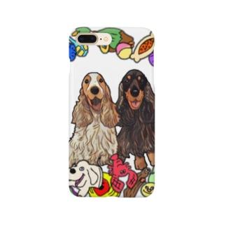 クレア&エミリー Smartphone cases