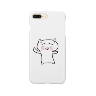 ほんわか猫 Smartphone cases