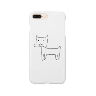 健気なdog Smartphone cases