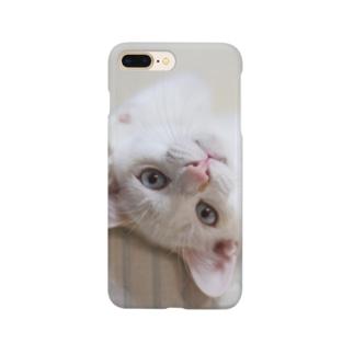 招き猫 珀ちゃん Smartphone cases