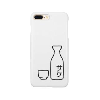 サケ(酒) Smartphone cases