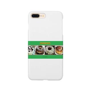 手作りケーキシリーズ Smartphone cases