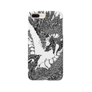 龍の模様 Smartphone Case