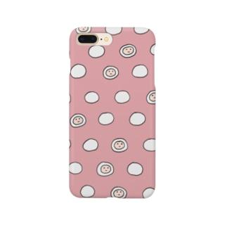 モチフォン・レッド Smartphone cases