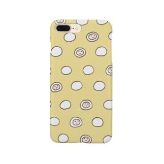 モチフォン・イエロー Smartphone cases