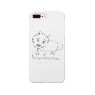 銀座おばばのわんこ Smartphone cases