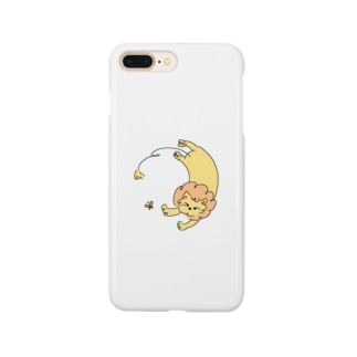 ちょうちょとライオン Smartphone cases