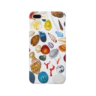 カラフルポップシェルズ Smartphone cases