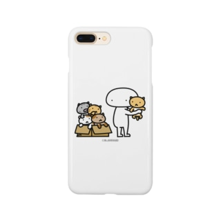 Mr.AWKWARD with Kitty Smartphone cases