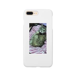 ピンクゼブラ似合う?ミンミ Smartphone cases