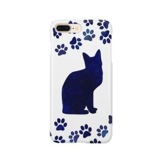 宇宙と猫 Smartphone cases