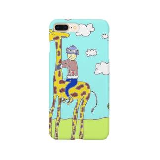 キリンわたし Smartphone cases