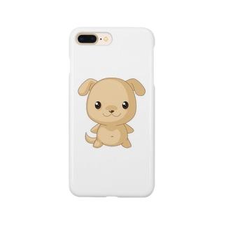 可愛い 犬 Smartphone cases