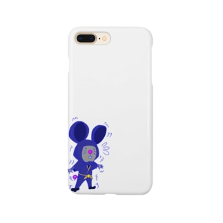 ちゅー兵衛「忍法!!ぼくは壁」 Smartphone cases