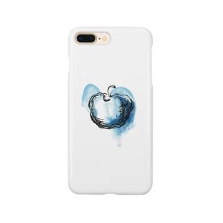 Blue apple スマートフォンケース