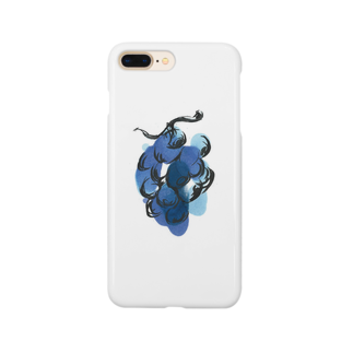 eauのGrape Smartphone cases