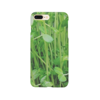 豆苗のやつ Smartphone cases