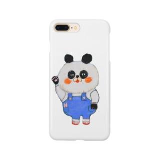 もふもふパンダさん Smartphone cases
