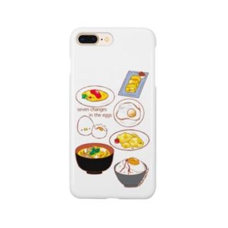 卵の七変化 Smartphone cases