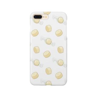 にくらしいキャンディーチーズのパターン Smartphone Case