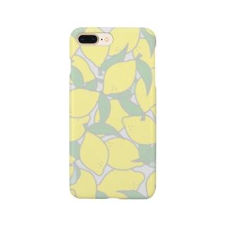 爽やかレモン Smartphone cases