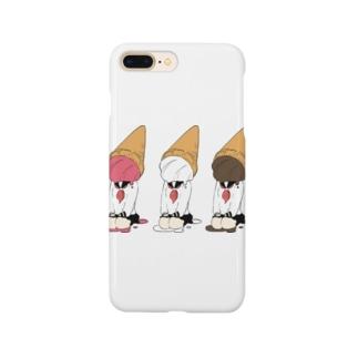 ソフト三姉妹 Smartphone cases